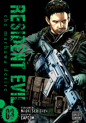 Manga Review: Resident Evil: The Marhawa Desire vol. 3