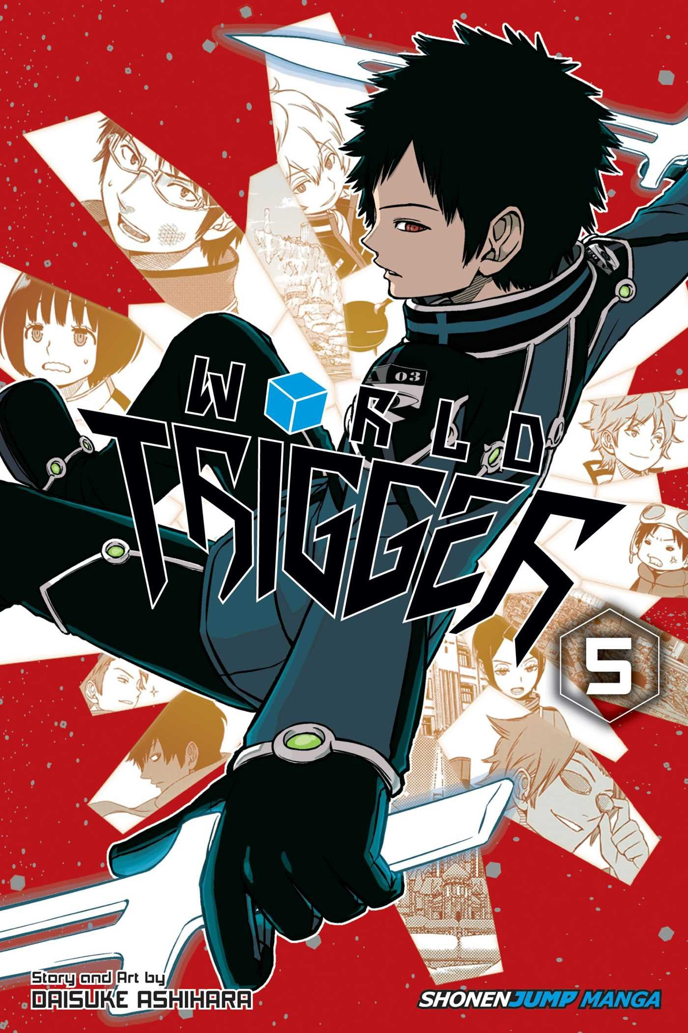 Manga Review: World Trigger vol. 5