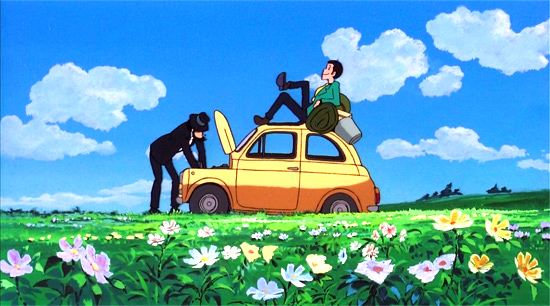 Castle of Cagliostro: the Lupin film by Hayao Miyazaki