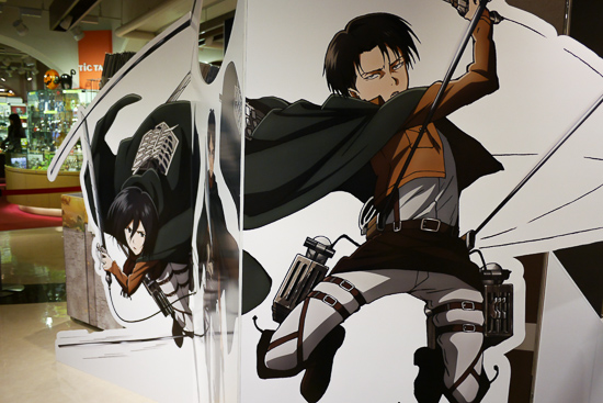 Attack on Titan Akihabara Pop-up Shop, picture 5