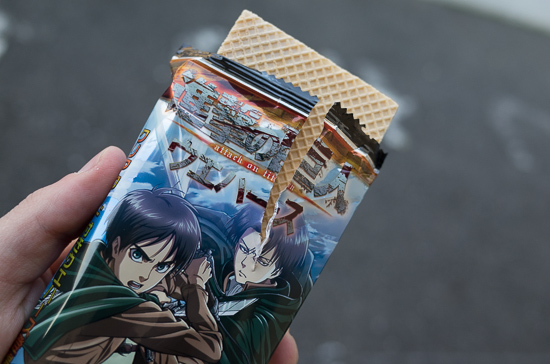 Attack on Titan 7-11 Merch