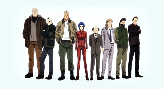 Ghost in the Shell ARISE: Ghost Pain anime review