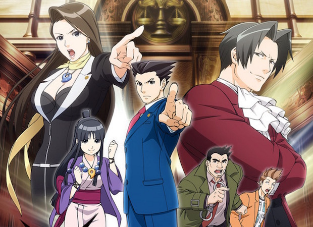 Not Many Objections Yet with the Ace Attorney Anime