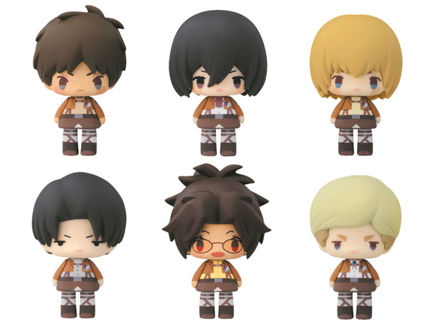 Attack on Titan Characters go Chibi in New Toy Lineup
