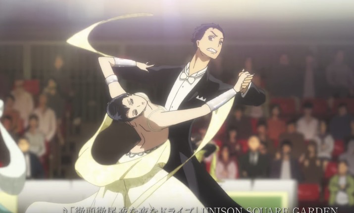New Welcome to the Ballroom Anime Preview Practices Its Moves