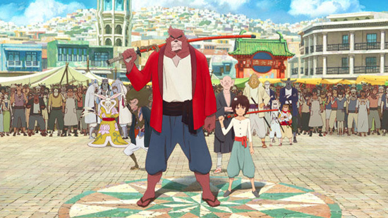 The Boy and the Beast Film Review