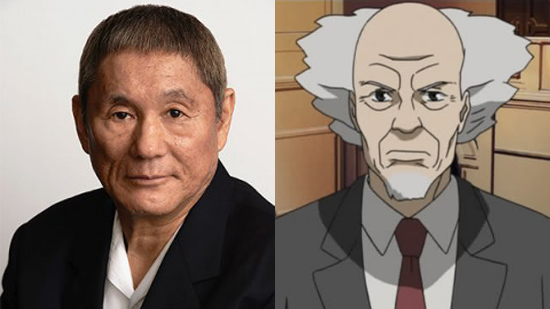 """""""Beat"""" Takeshi Kitano To Play Aramaki In Live-Action Ghost In The Shell"""