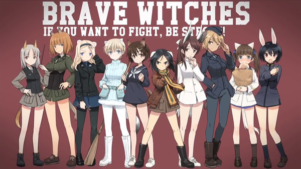 Strike Witches Spinoff Brave Witches Details Revealed