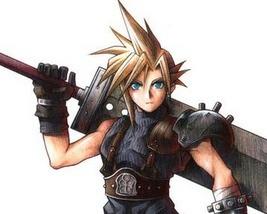 Blacksmith Forges Real Final Fantasy VII Sword