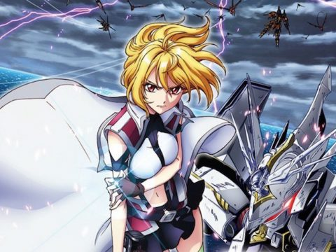 Cross Ange Anime Makes Its Explosive Home Video Debut