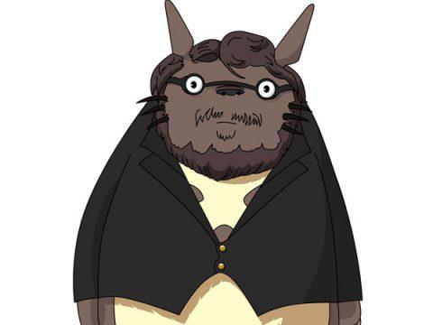Pacific Rim's Guillermo del Toro Gets Turned into Guillermo del Totoro
