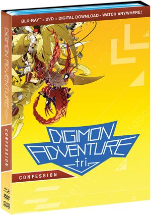Digimon Adventure tri.: Confession on Blu-ray + DVD