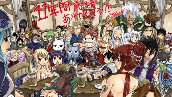 Hiro Mashima Reveals Fairy Tail's Final Color Gate Page