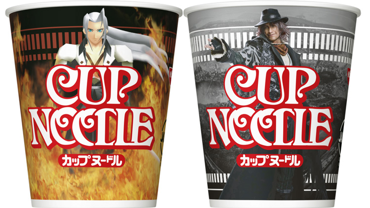Final Fantasy Cup Noodles Celebrate 30 Years of Boss Battles