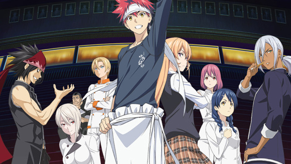 Soma's Opponents Assemble in New Food Wars Season 2 Visual