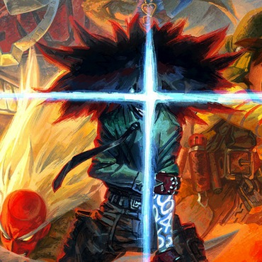 Cannon Busters Kickstarter Summons Anime Talent