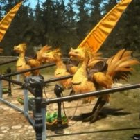 Final Fantasy XV Footage Hops on a Chocobo