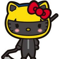 Hello Kitty Mixes It Up with Durarara!!