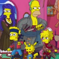 Popular Anime Parodied on The Simpsons