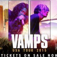 Hyde Formally Announces VAMPS USA Tour