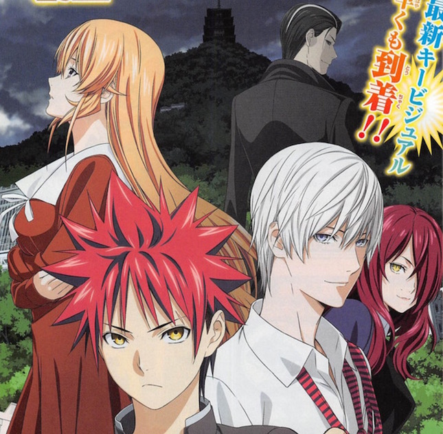 Food Wars! Season 3 Lines Up Theme Song Artists