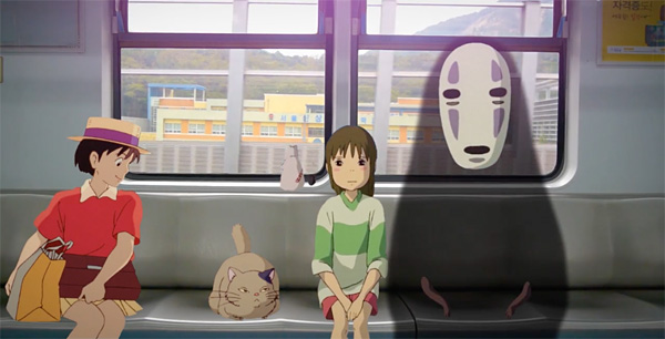 Fan Video Drops Studio Ghibli Characters Into Real Life