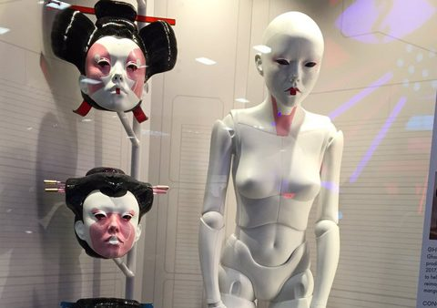 Weta Shows Off Live-Action Ghost in the Shell Android at Comic-Con