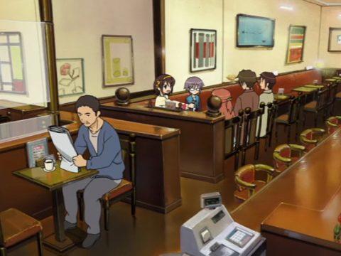 In Western Japan, Real-Life Melancholy of Haruhi Suzumiya Cafe Reopens