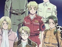 Watch the Hetalia Paint It, White Movie Preview in English