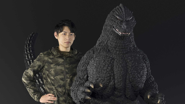 Human-Size Godzilla Figure Will Stomp Your Wallet