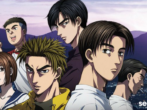 Sentai Filmworks Licenses Initial D Anime Movie Trilogy