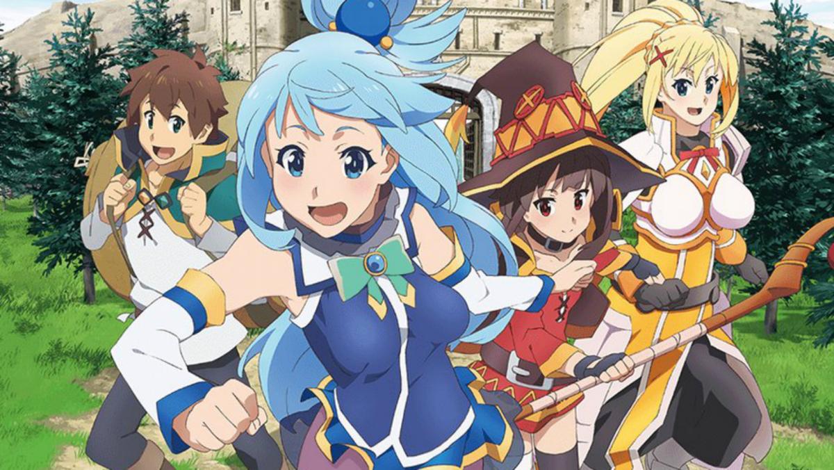 isekai anime: KonoSuba: God's Blessing On This Wonderful World!