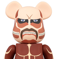 Colossal Titan Appears In Be@rbrick Form