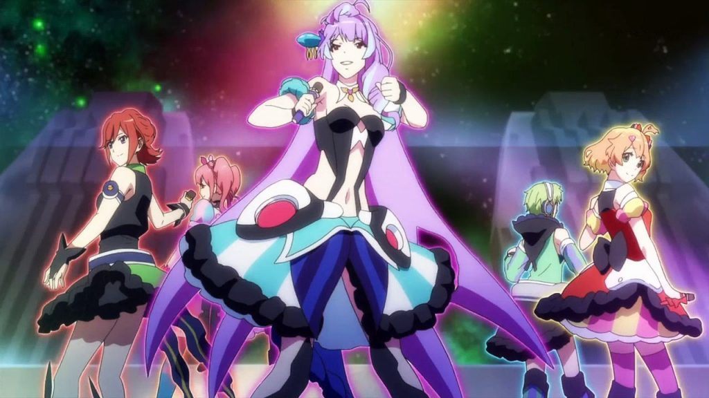Macross Delta Scramble Game Previewed