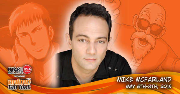Don't Miss Voice Actor Mike McFarland at Anime Fan Fest