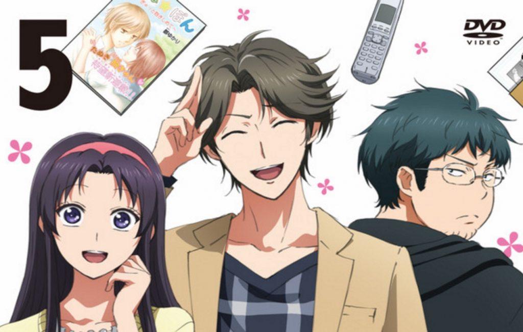 Monthly Girls' Nozaki-Kun Manga Keeps the Gags Coming