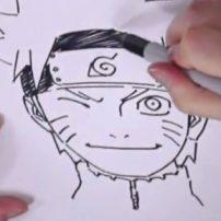 Watch Manga Author Masashi Kishimoto Sketch Naruto