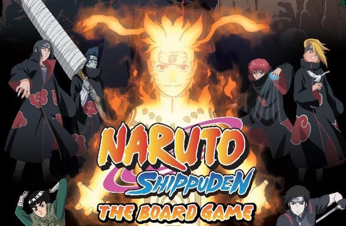 Live the Adventure in Naruto Shippuden: The Board Game