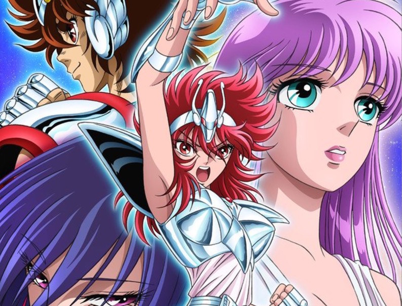 Visual Previews Saint Seiya: Saintia Shō Anime