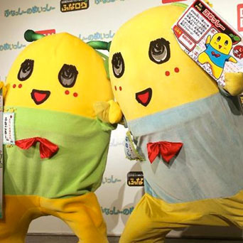 Japanese mascot Funassyi has a brother