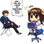 The Melancholy of Suzumiya Haruhi-chan #1