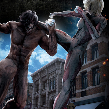 Attack on Titan Attraction Features Life-size Titans