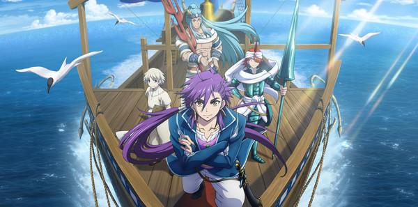 New Magi Adventure Of Sinbad Anime Promo Debuts