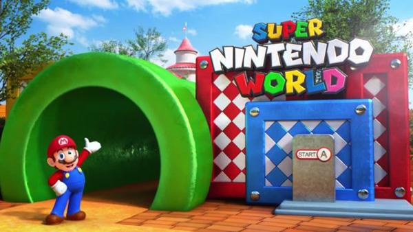 Universal Studios Japan Offers First Peek at Super Nintendo World