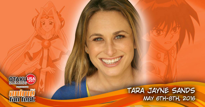 Voice Actor Tara Jayne Sands is coming to Anime Fan Fest