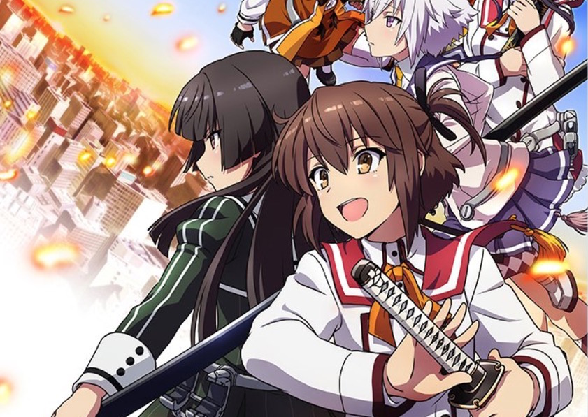 Sword Maidens Take Over in Toji no Miko Anime Promo