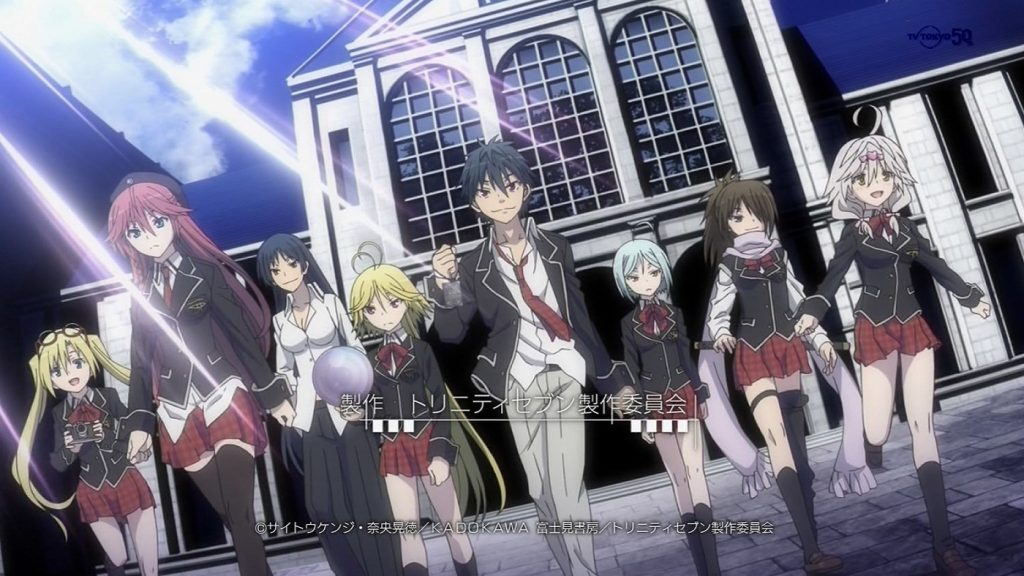 Sentai Filmworks Adds Trinity Seven Anime