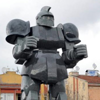 Giant Gundam Statue Appears in Ankara, Turkey