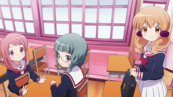 Wakaba Girl Soaks in the Sunlight and Takes On the World Above
