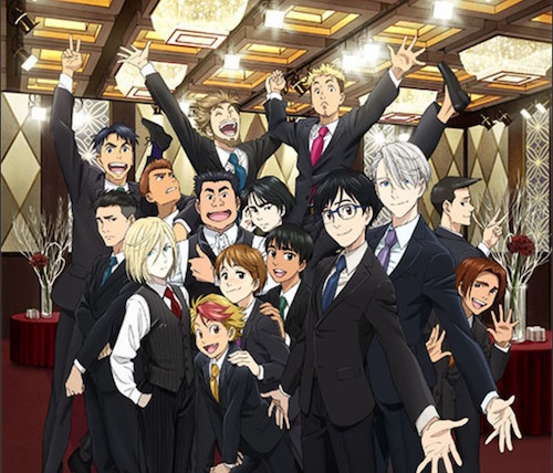 Yuri!!! on ICE Anime Film Announced, Not a Compilation
